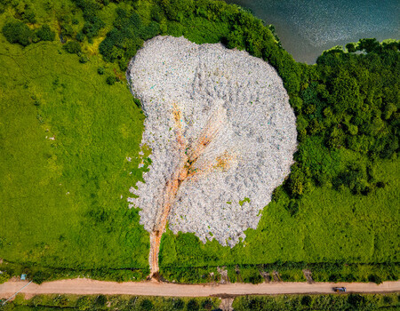 Skypixel 6th Anniversary Contest Nominated Entries Boon To Bane The 300 Acres Of Dumpyard