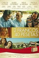 '2 francos, 40 pesetas', tráiler y cartel