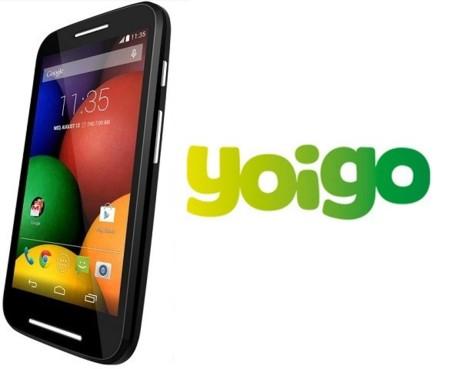 Precios Motorola Moto E con Yoigo