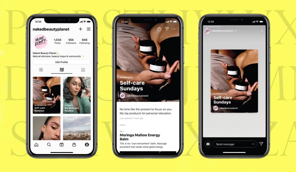 Instagram, cerca de convertirse también en una plataforma de blogs al permitir a todos sus usuarios publicar 'guías'