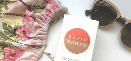 Este verano preparo (y acelero) el bronceado con Rapid Bronz. Lo ponemos a prueba