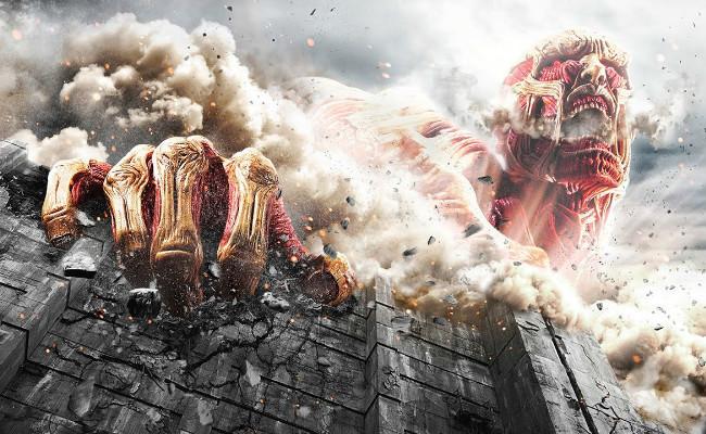 Ataque A Los Titanes Poster