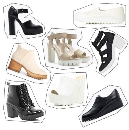 Track soles zapatos tendencias Otoño Invierno 2014-2015