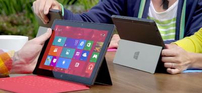 Se lanza el primer comercial del Microsoft Surface