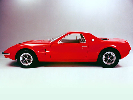 Ford Mustang Mach 2 Concept Car  1967