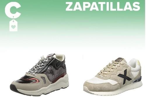 Chollos en tallas sueltas de zapatillas Munich, Lacoste o Pepe Jeans en Amazon