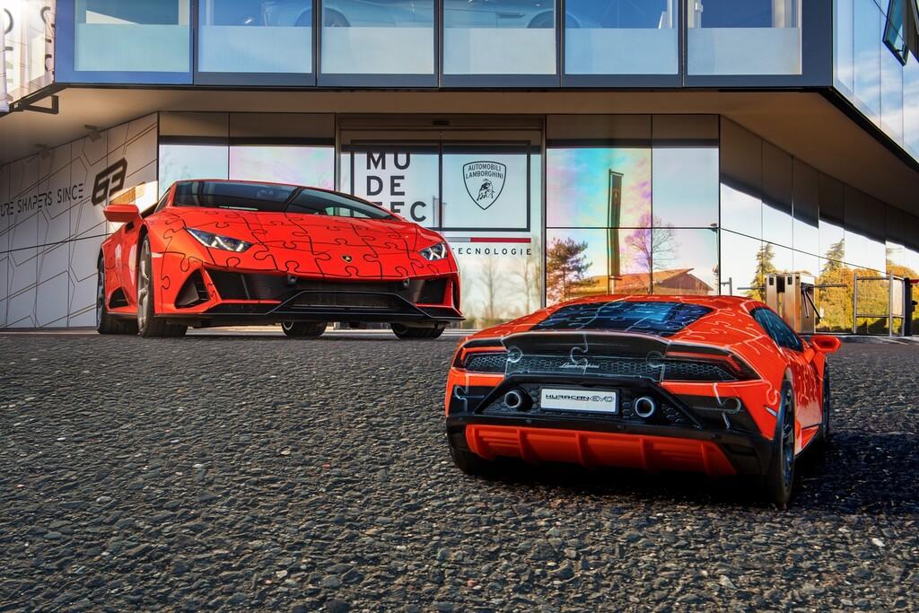 Si te gusta el Lamborghini Huracán EVO ahora puedes tener uno por 34,99 euros, aunque es un puzle 3D