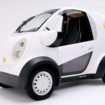 Honda y Kabuku crean un auto eléctrcio impreso en 3D para entregar... ¿galletas?