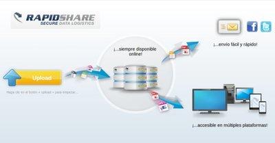 Rapidshare tendrá que monitorizar las páginas que enlazan sus archivos