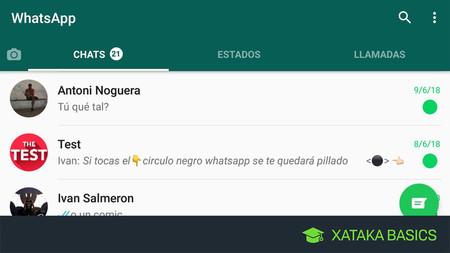 Cómo Marcar Un Chat Como No Leído En Whatsapp