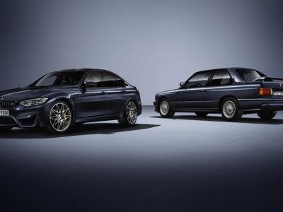 BMW celebra 30 años del M3 con edición especial conmemorativa