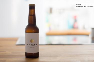 Antara, cerveza ecológica de chufa. Cata de cerveza