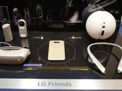 Precios oficiales de los LG Friends, los accesorios del LG G5, disponibles ya en España