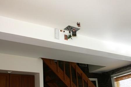 Muebles en miniatura para decorar los techos