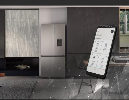 Los nuevos frigos inteligentes de Haier con IA y geolocalización sabrán cuándo y dónde haces la compra para ajustar la temperatura