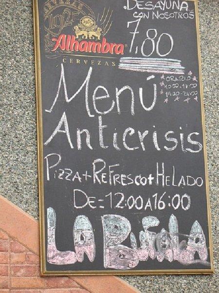Los supermercados también nos venden la panacea de los menus anti-crisis
