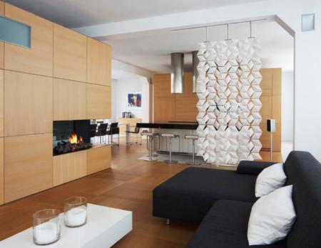 Lightfacet de Blooming, un separador de interiores que junta estilo y luz
