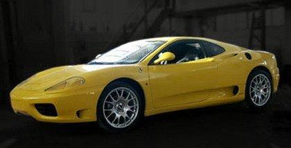 Cómo hacerte un Ferrari 360 por 30.000 euros