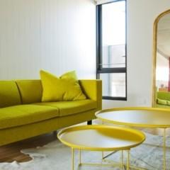 Foto 2 de 4 de la galería un-salon-con-detalles-amarillos en Decoesfera