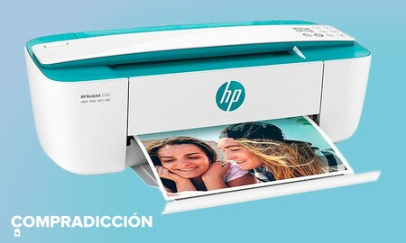 Esta impresora es un chollo: HP DeskJet 3762 por sólo 59,90 euros en Amazon