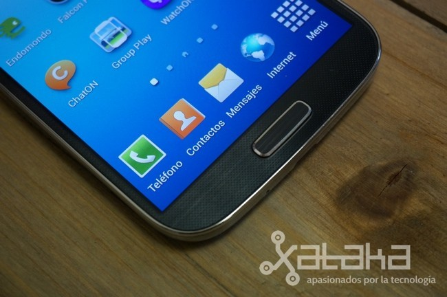 Samsung Galaxy S4 pantalla