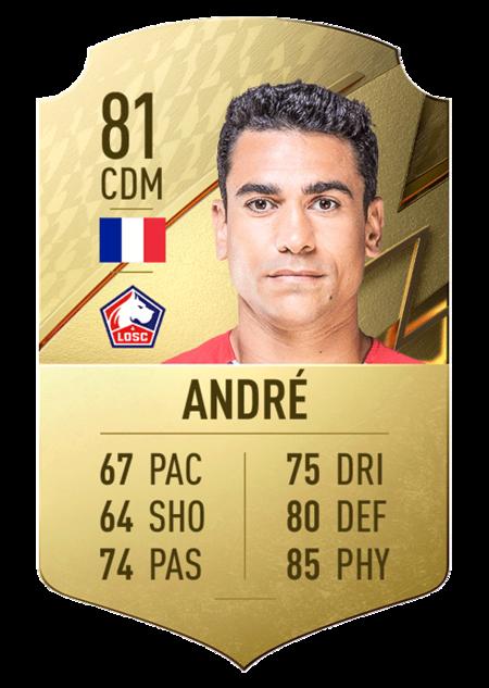 André FIFA 22 mejores jugadores ligue 1