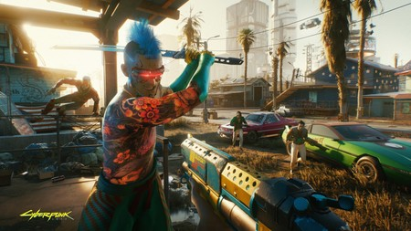Cyberpunk2077 Always Bring A Gun To A Knife Fight Rgb En