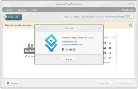 Freemake Video Downloader se renueva con la versión 3.0