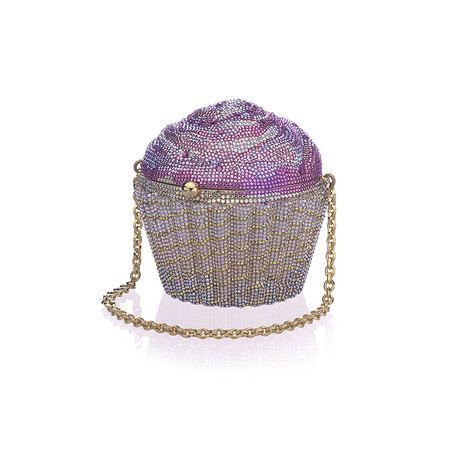 Judith Leiber Couture Strawberry Cupcake Clutch