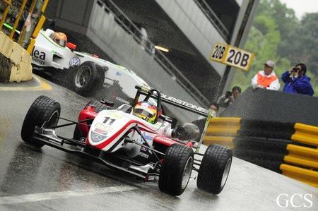 Roberto Merhi, mejor tiempo provisional en el Gran Premio de Macao de Fórmula 3