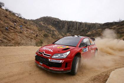 Victoria de Loeb y cuarto puesto para Sordo en México