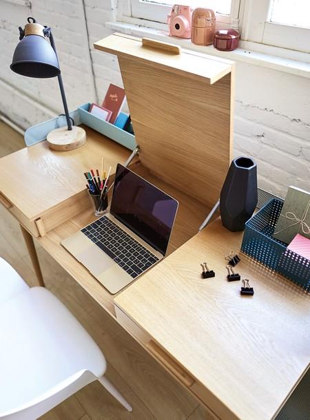 Mesa de escritorio para casas pequeñas