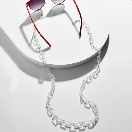 Cadena De Gafas Transparente