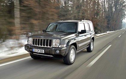 El Jeep Commander sale a la venta