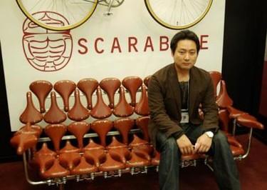 Scarabike, un sofá para ciclistas