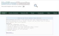 NoVirusThanks, escanea online tus archivos en busca de código malicioso
