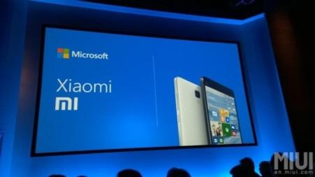 Microsoft Xiaomi Announcement