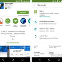 Google Play ahora nos informará si una aplicación está optimizada para Android Wear