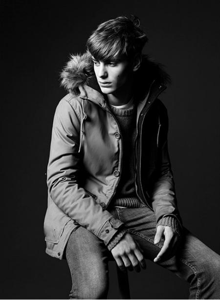 Abrigo capucha Pull & Bear