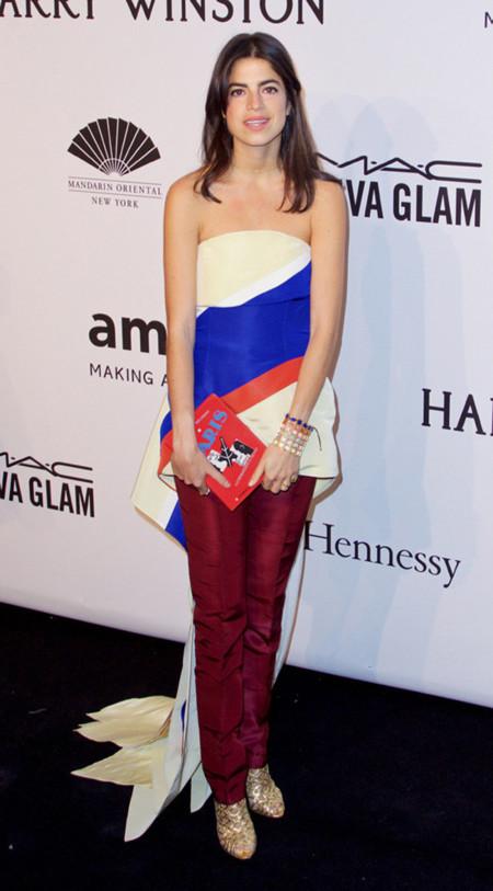 Leandra Medine Rosie Assoulin Amfar New York Gala 2015