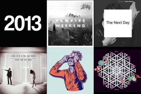 Cinco discos de 2013 que a estas alturas de año no deberían faltar en tu colección