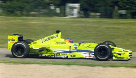 Alonso Formula 3000 2000