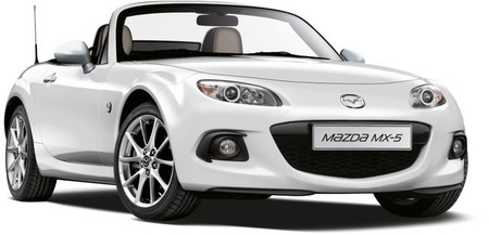 Mazda lanza la serie limitada Sakura para Mazda2, Mazda5 y MX-5