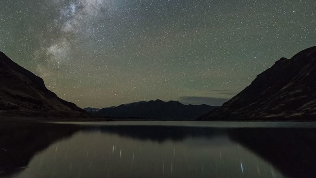 Nueva Zelanda a vista de dron