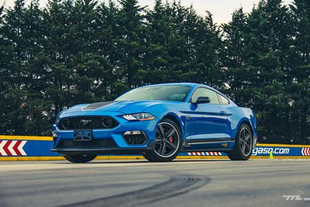 Ford Mustang Mach 1 2021 Prueba De Manejo Opiniones Resena Mexico 4