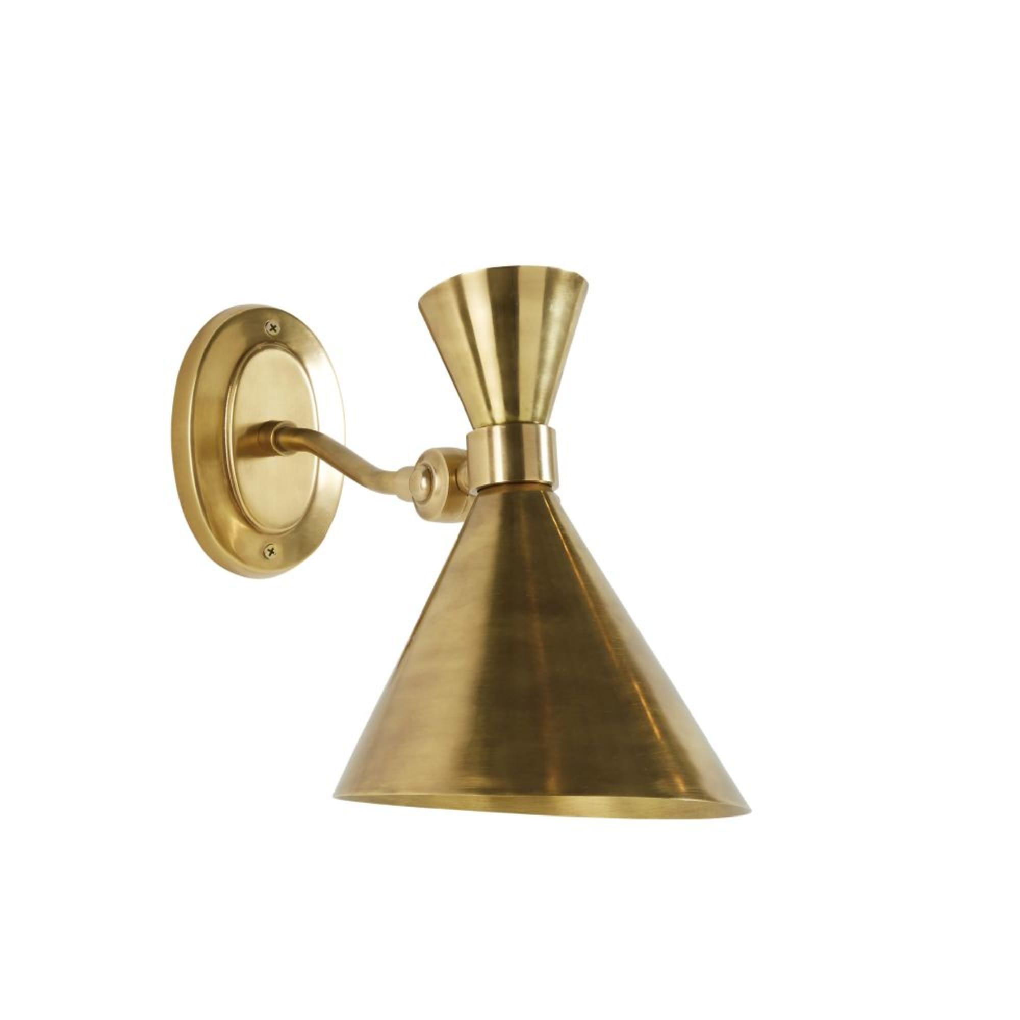 Aplique de metal dorado