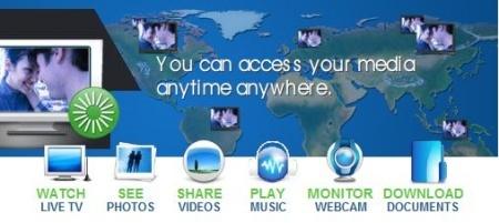 Cyberlink Live, acceso remoto a nuestros contenidos y streaming de televisión y webcams