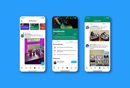 Twitter presenta Communities, su versión de Facebook Groups y Reddit donde se habla de temas concretos y se entra por invitación
