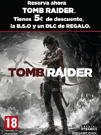 Descuento de cinco euros para el videojuego Tomb Raider en 'El Corte Inglés' de Castellana