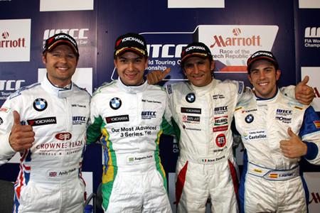 BMW domina la clasificación en Brno